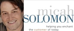 Micah Solomon, Customer Service Expert