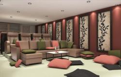 View of Home-Theater, design by Jooca Studio, Romania
