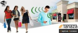 Tanaza and Captive Access offer a complete Wi-Fi cloud managed solution for retail