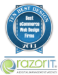 eCommerce Web Design Firms Awards Names RazorIT 1st Rank by 10 Best...