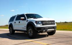 SVT pick-up sport utility vehicle super crew cab