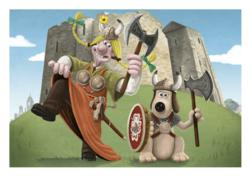 Wallace & Gromit are on board with the Holidays at Home campaign