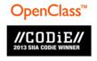 OpenClass Honored with 2013 Software & Information Industry...