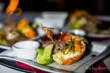 Lobster Dining at Chabil Mar Belize Resort