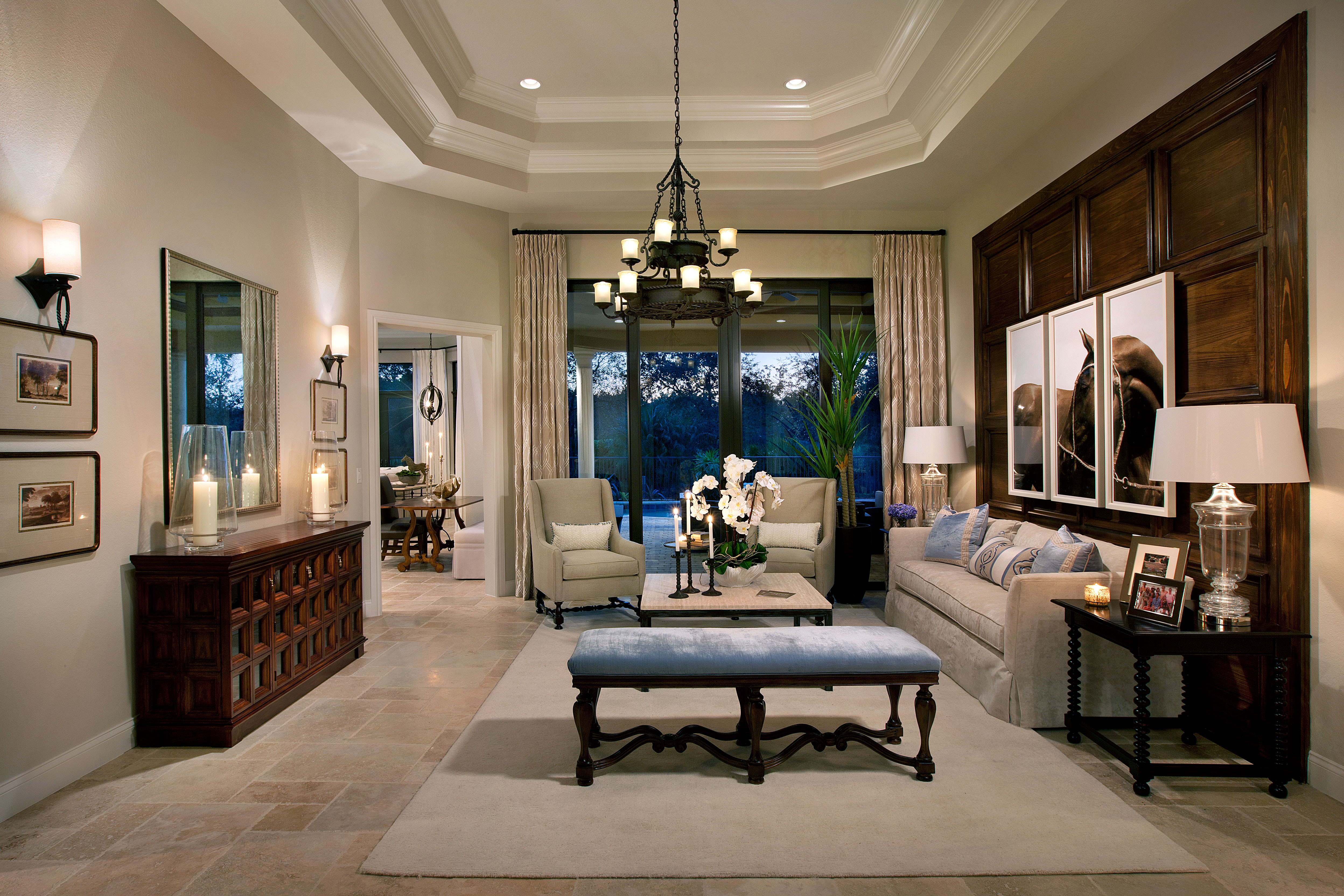 Two Model Homes By Marc Michaels Interior Design Inc Sold In Naples Fl