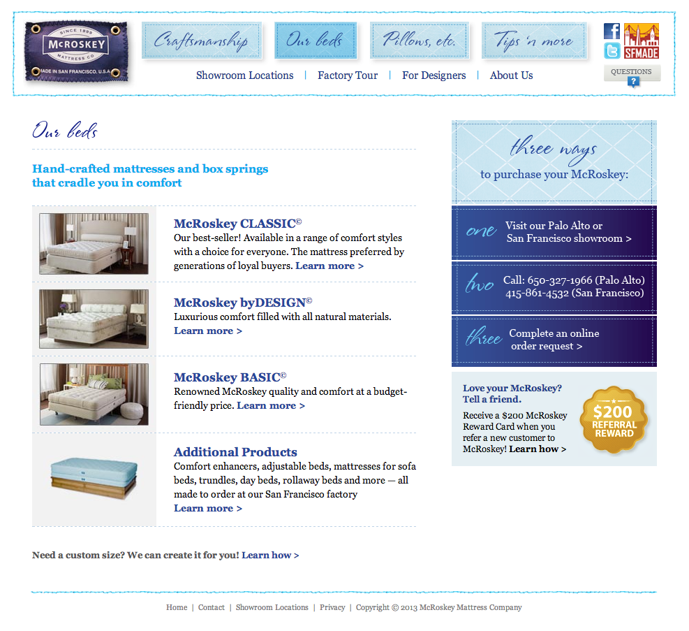 Mccroskey Mattresses The Photo Of The Natural Mattress