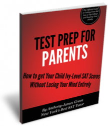 Test Prep and SAT tutoring for parents.