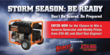 "STA-BIL® and Generac® Help Consumers Prepare for Severe Weather with the ""Storm Season: Be Ready"" Sweepstakes"