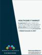 MarketResearch.com Report – Global Healthcare IT Market to Grow at a...