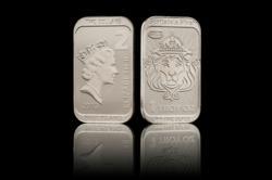1 oz Niue Silver CoinBar with Mint Guard Technology