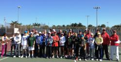 Saviano Tennis Academy Group Photo