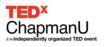 Speakers Announced for TEDx Conference, Returning to Chapman...