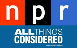 """NPR """"All Things Considered"""" logo"""