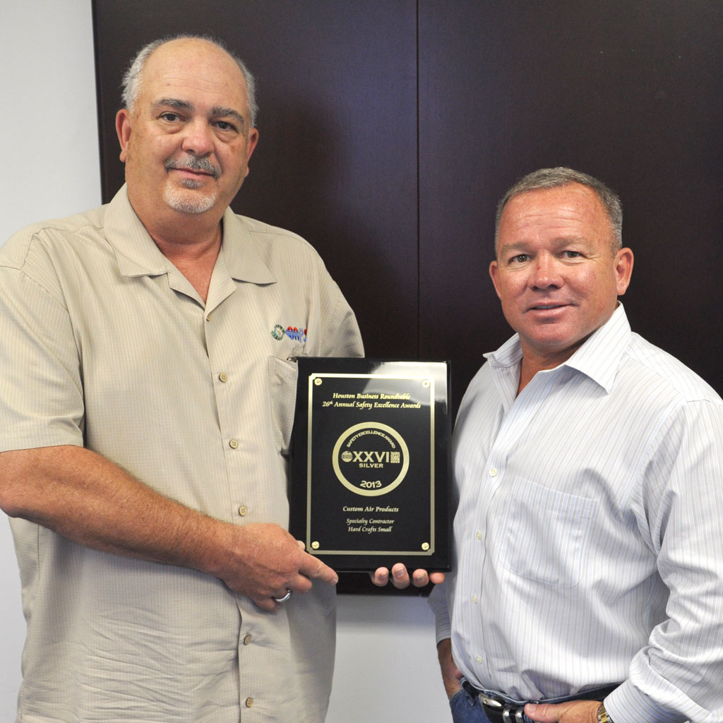 Products Services: Custom Air Products & Services Awarded Houston Business