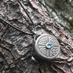 Stainless Steel Celtic Cross Pendant by Loralyn Designs