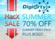 MacXDVD Sparkles 2013 Summer Season with BOGO Offer and Whopping Discount