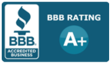 A+ Rated Service by the Better Business Bureau