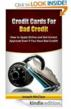 "Promotional Giveaway Announced for the Kindle Book ""Credit Cards For..."