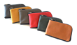 The Finn Leather Wallet—available in six supple, deer-tanned leather color options