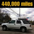 the chevy blazer @ 440,000 miles