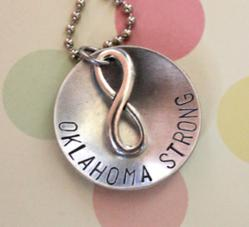 Oklahoma Strong Necklace