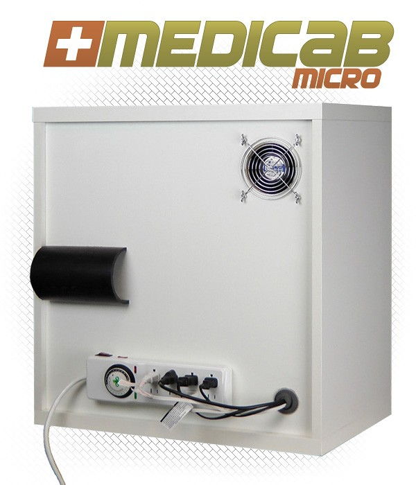 MediCab Micro Grow Box Rear ViewLight tight and odor free grow box ...  sc 1 st  PR Web & Grow Box Sales Thrive as City and Federal Governments Close ... Aboutintivar.Com