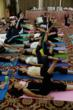 Hundreds Learning Lady Niguma Yoga