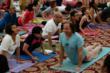 Geshe Michael Teaching Lady Niguma Yoga