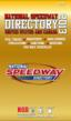2013 National Speedway Directory Coming To Race Tracks Everywhere