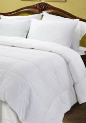 Aloe Vera White Goose Down Comforter