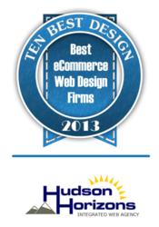 Best eCommerce Web Design: Hudson Horizons