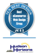 eCommerce Web Design Firms Ranking Includes Hudson Horizons as #2 by 10 Best Design