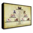 personalised gifts family tree canvas