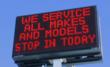 LED Sign at Ray Haskill Ford Lincoln