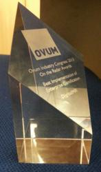 On The Radar award for Gamification