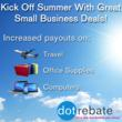 DotRebate Announces 30% to 100% Increase in Cash Back Rebates for...