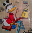 Donald Duck by Alec Monopoly, part of Welcome to the Future at Guy Hepner