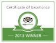 Home-Towne Suites Earns 2013 TripAdvisor Certificate Of Excellence