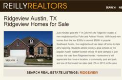 Ridgeview Austin Neighborhood Page