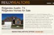 Reilly Realtors Debuts Ridgeview Neighborhood Page and Home Search