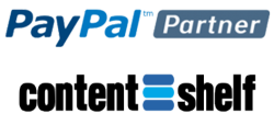 Content Shelf is now a PayPal Partner