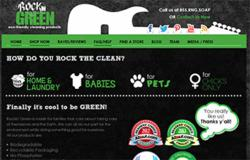 Rockin' Green Website