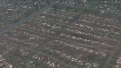 The damage by May 19, 2013 EF-4 tornado..image provided to Blaze TV by KFOR-TV