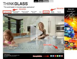 New 2013 ThinkGlass Web Site
