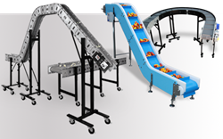 Dynamic conveyor manufactures conveyors for plastic parts and food processing