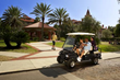 The Club Car Villager low speed vehicle (LSV) is street-legal on roads with speed limits of 25 mph or less in most states.