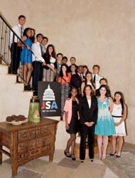 California Attorney General Kamala Harris with JSA Student Leaders