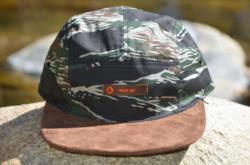 5-panel, five panel hat, 5-panel hat, 5-panel camo, custom strapback, leather strapback, strap back hat, camouflage hat, suede hat, organic hat, natural hat, hemp hat, brown hat