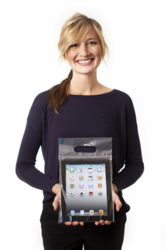 Keep your iPad safe and germ free with cleansleev® by Healthcare Mobile. cleansleev is a disposable, recyclable, zip lock plastic sleeve designed specifically for the iPad.
