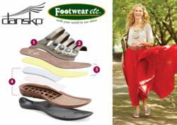 Dansko Sandals with comfortable cork footbeds